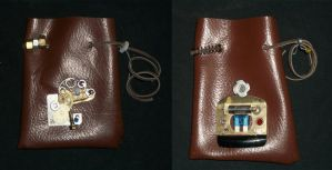 Steampunk Large Pouches 2 by PracticallyGeeky