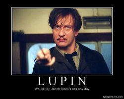 Lupin vs. Jacob Black by BlackTshirtFan