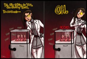 Portal 2 - Art Therapy ENDING by Inonibird