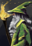 (Fan Art) Gandalf by icarus-exe