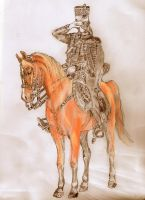 Colonel of the 7th French Hussars Colour by mr-macd
