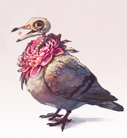 Pigeon by apeldille