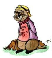 Hipster Gopher by fish-puddle