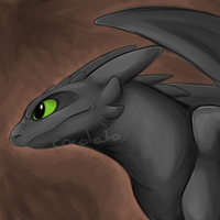 Toothless...I guess by Cocotato