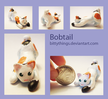Bobtail Cat - SOLD by Bittythings