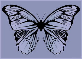 Butterfly Vector by kaolincash