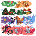 PKMNation :: Mess of Clutches by FENNEKlNS