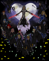 Organization XIII by HeliaSanto