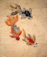 Fat Goldfish by chinesepaintings