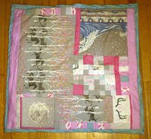 Patch Quilt Baby Blanket by 8bitHealey