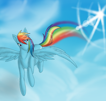 Rainbowdash by Sauriv