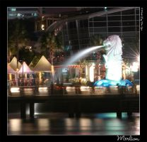 Merlion by ice-bear