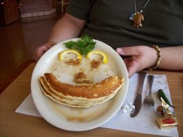 Pancake Smile by JohntheSilver