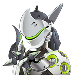 Genji from Overwatch Blizzard by HaruInkisitor