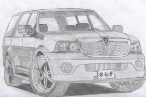 Lincoln Navigator DUB Edition by Arek-OGF