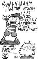 Ness Is Crazy by voln