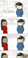 101 Ways to Make a Vulcan Laugh: 004 by TheVeggieSalad
