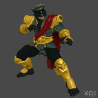 M.Bison 6p by DragonLord720