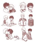 Destiel - Doodles1 by msloveless