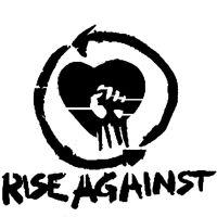 Rise Against stencil by fight-starter