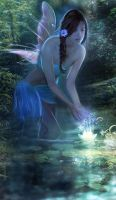 Water Spirit by Phatpuppyart-Studios