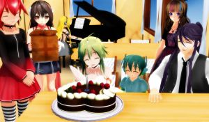 Happy Birthday Gumi! by GingerrattennaXD