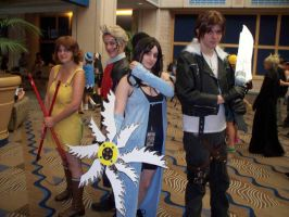 Final Fantasy VIII Group by stinkulousreddous