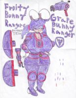 FBR:GRAPE BUNNY RANGER by RedWolf246