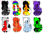Anthro Adoptables (Open!) by Mulch-Adopts