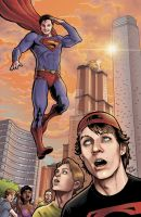 Kaman Stowell Smallville by StevenHoward