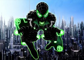 Defender and Leader of the rebellion - Spider-Man by stick-man-11