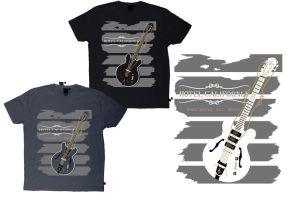 Vintage T-shirt Design for HOTEL CALIFORNIA 1 by AnatneM-Studios