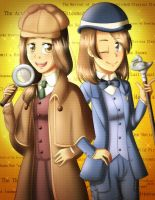 Elementary, My Dear Sister! by dashofcreativity