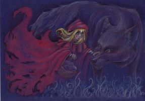 Little Red Riding Hood by Raenyras