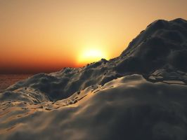Ice and sun by Misstock