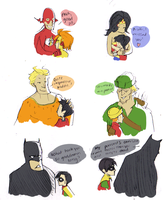 Batman is a dick by komodomatta
