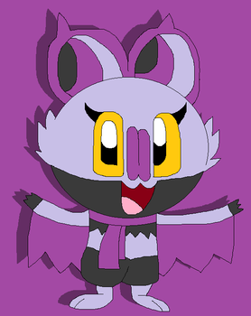 Maple the Noibat by LisaDots123