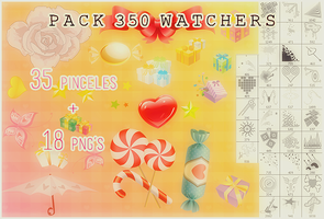 350 watchers~ by xBonbons