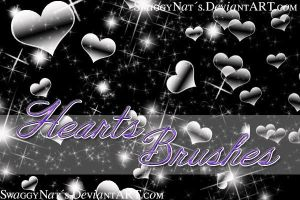 +Hearts Brushes by SwaggyNats