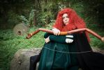 Merida - The Brave by RowenaPunainen