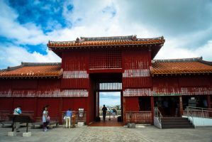 Shuri Castle Park: Koufukumon by Natures-Studio