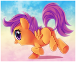 Scoot Scoot Scootaloo by Centchi