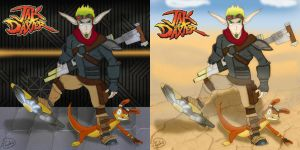 Jak and Daxter - 2 by Emma-chan91