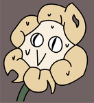 Flowey Face (New Profile Picture) by GarethJason