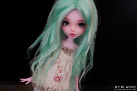 Ann - pink and mint by AndrejA