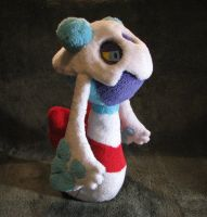 Froslass Plush by Jellystitch
