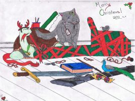 Merry Christmas 2011 by Tigeress713
