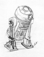 In progress- R2D2 reflects by paradoxal