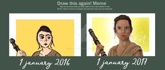 Rey - Draw This Again by Complett