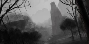 Ruins in the Jungle by Vensin